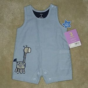 NWT Carter's Baby Romper 3 months